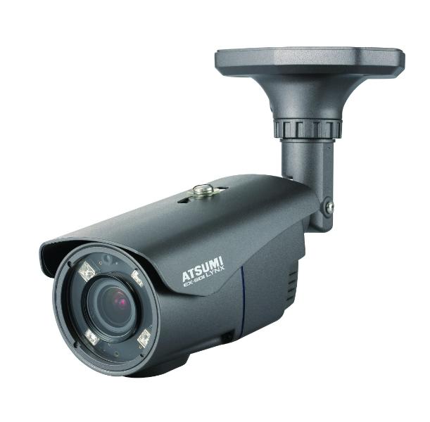 バレットタイプ 屋外で多く使用されます。それぞれの目的に特化した種類のカメラがあります。